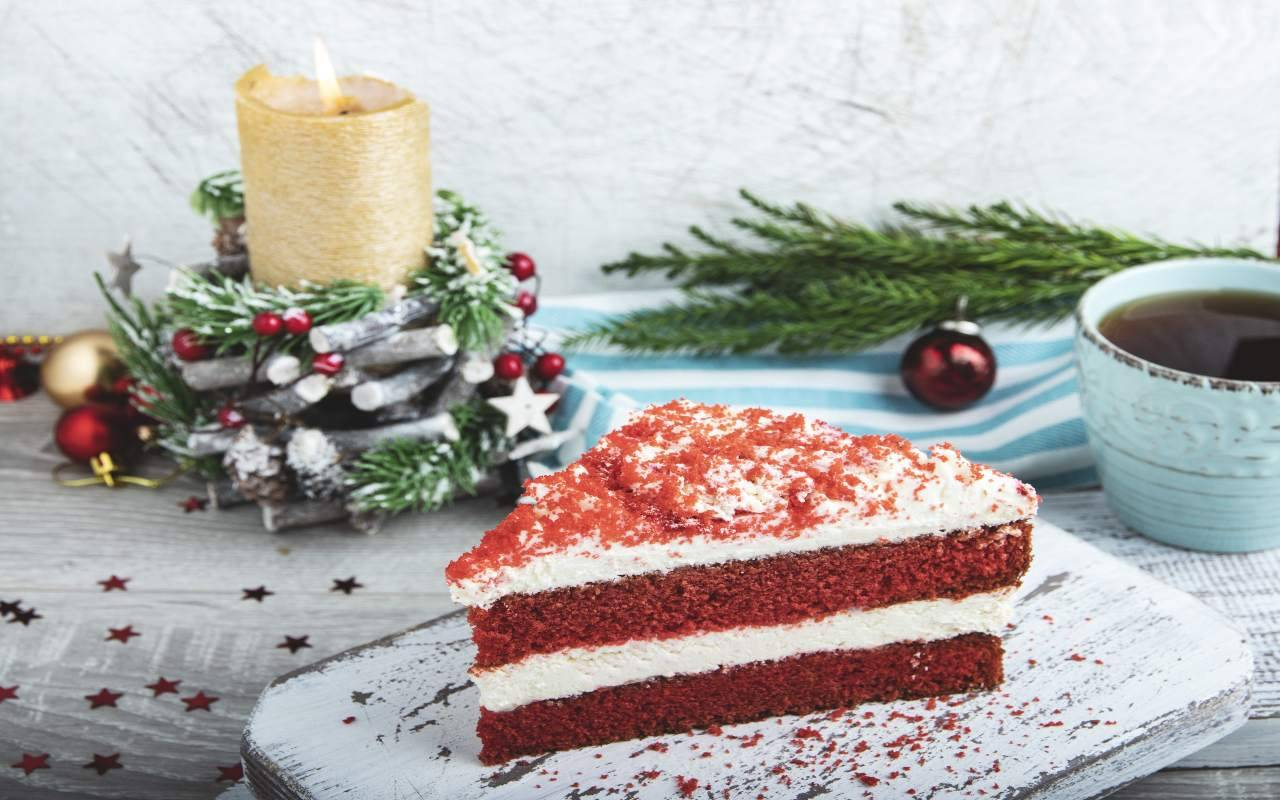 red velvet cheesecake ricetta FOTO ricettasprint
