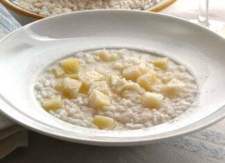Risotto cremoso alle patate ricettasprint