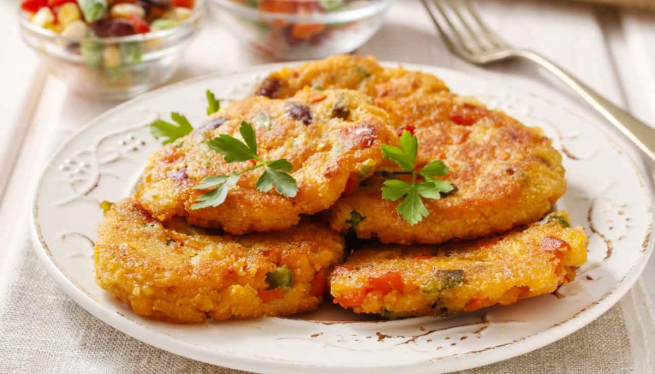 Rosti di patate alle verdure ricettasprint