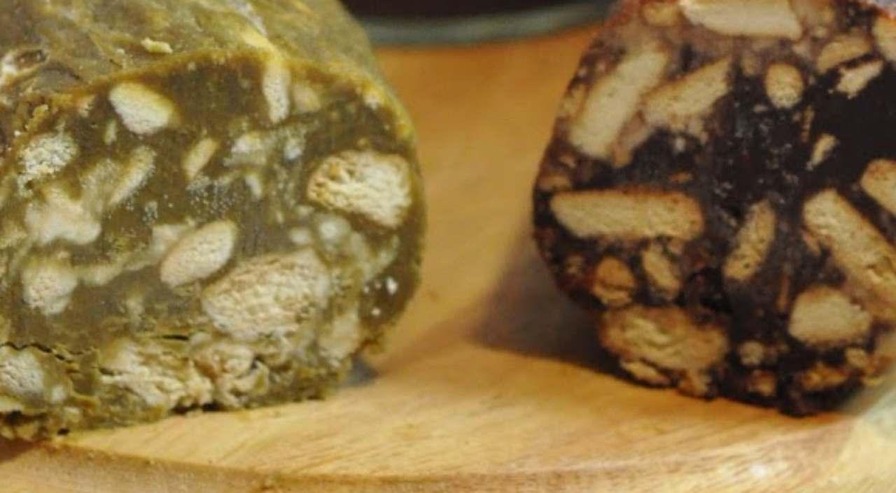 Salamini di pistacchio e caffè ricettasprint