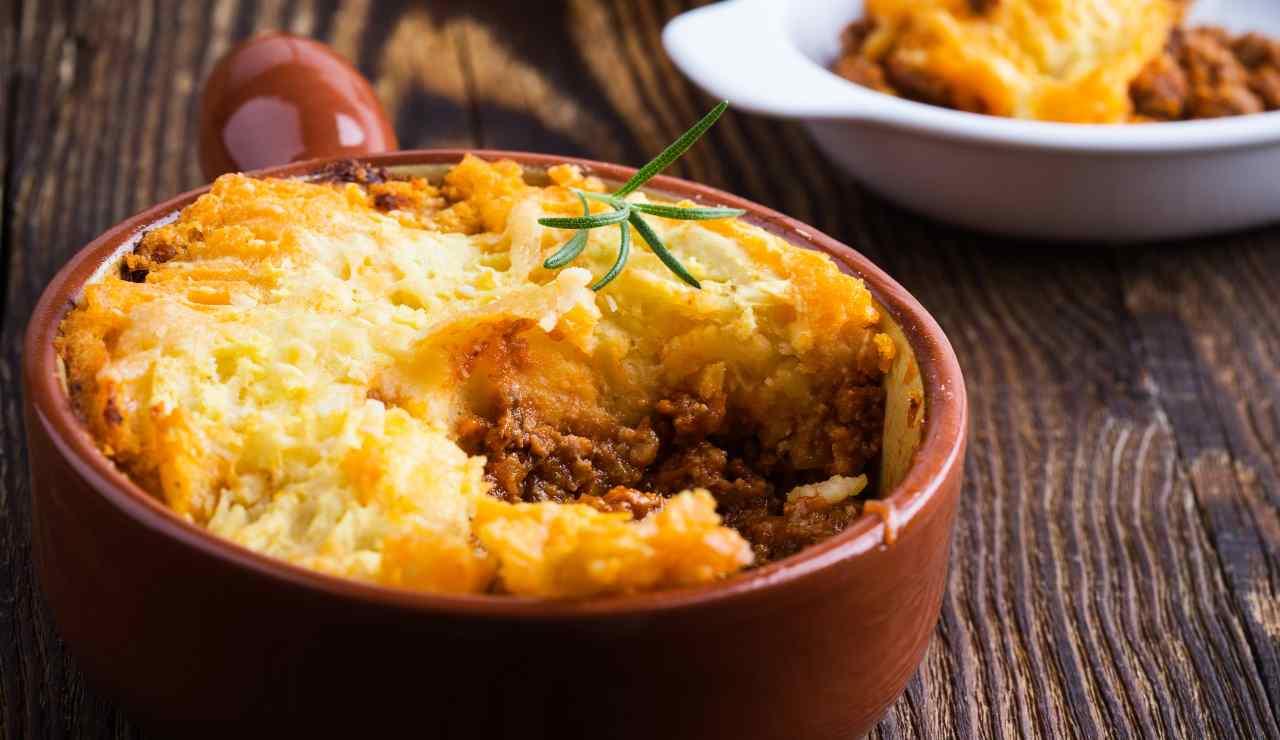 Shepherd's pie ricetta anglosassone ricettasprint