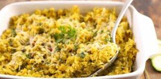 Stufato di riso con patate e piselli ricettasprint