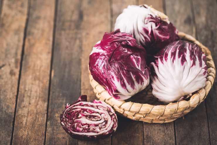 Tartine radicchio e gorgonzola FOTO ricettasprint