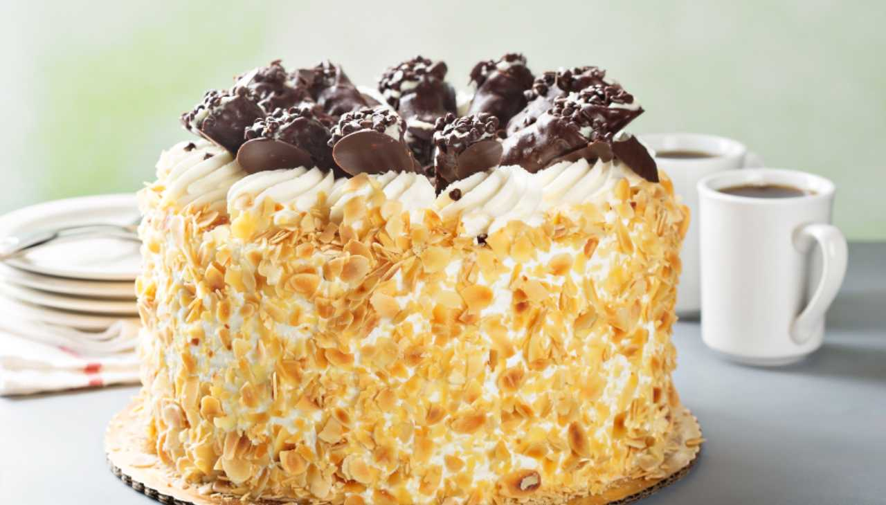 Torta Fedora con ricotta ricetta