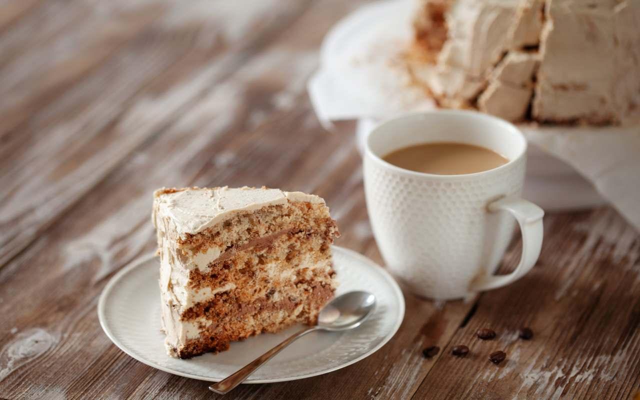 torta caffè ricetta FOTO ricettasprint