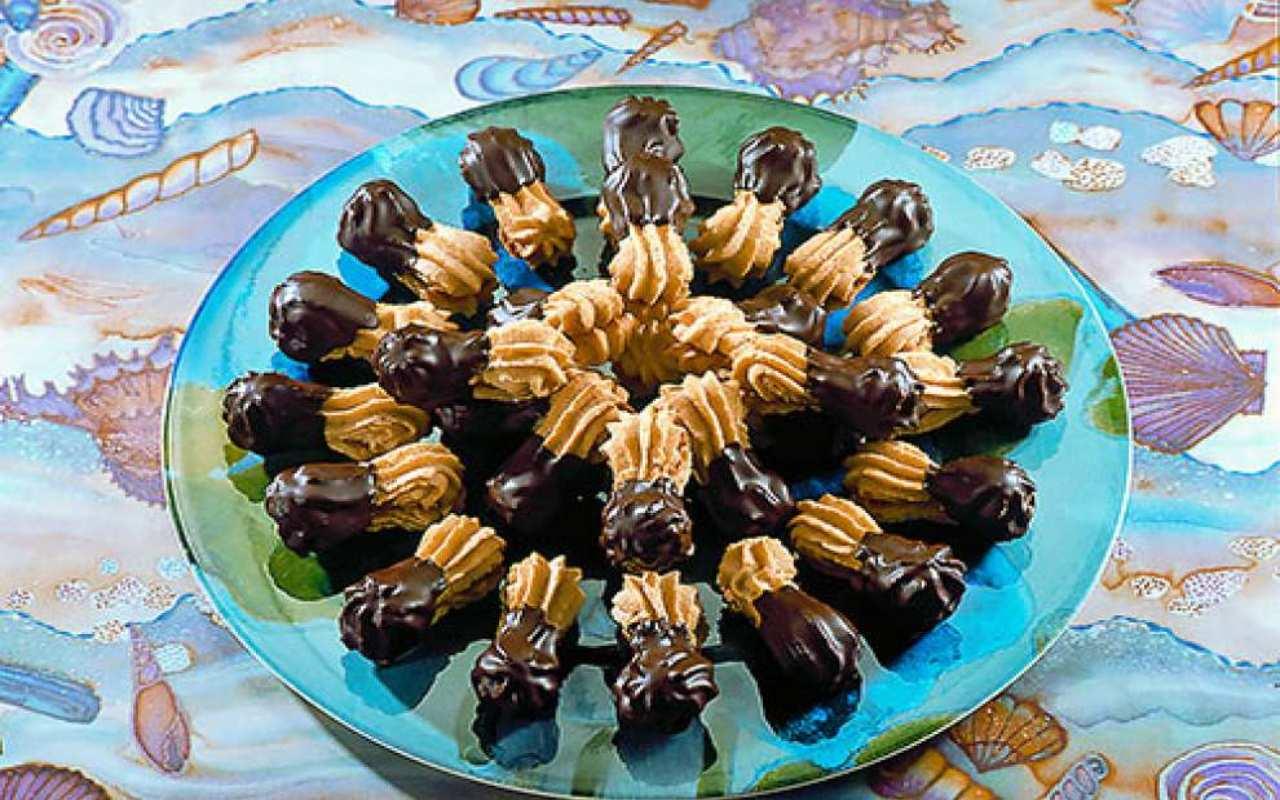 Viennesi biscotti caffè ricetta FOTO ricettasprint