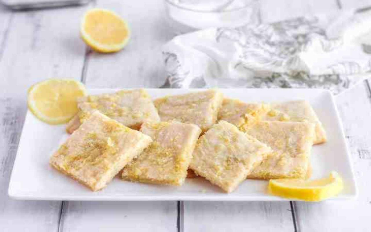 biscotti zucchero limone ricetta FOTO ricettasprint