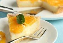 Crostata arancia e cioccolato bianco