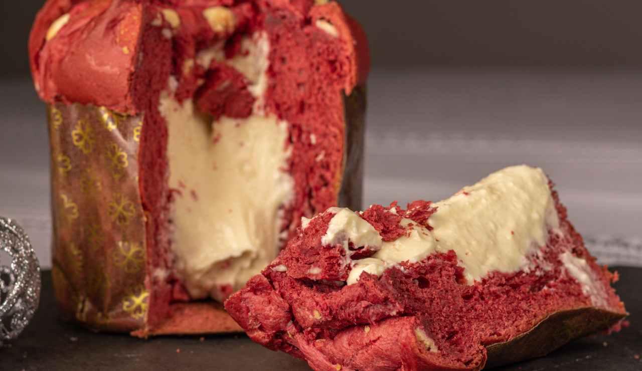 panettone furbo red velvet farcito ricettasprint