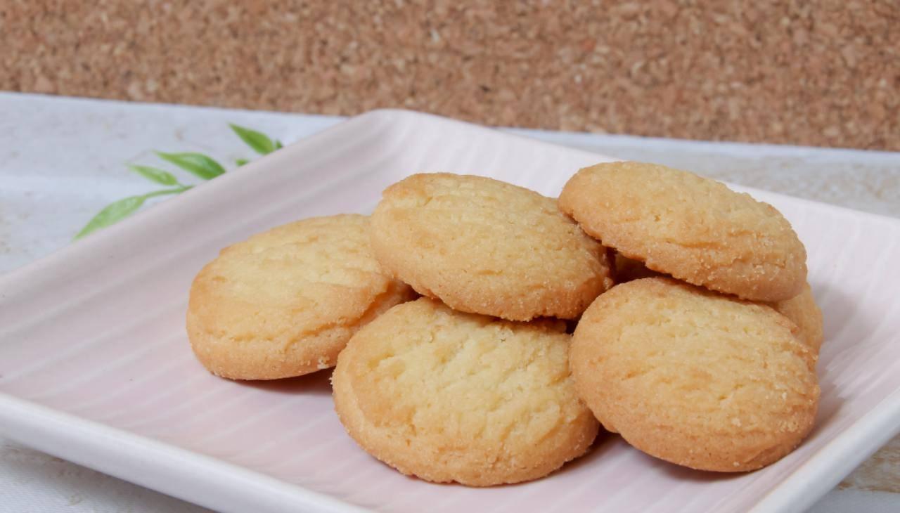 Biscotti 5 minuti senza glutine ricetta