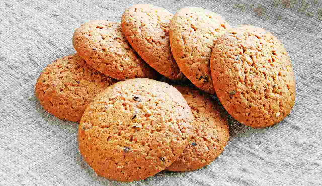 Biscotti dietetici integrali ricettasprint