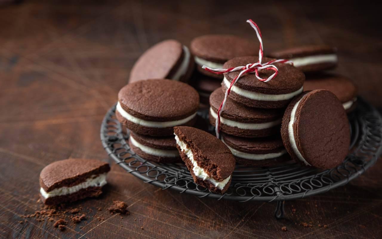 biscotti oreo casa ricetta FOTO ricettasprint