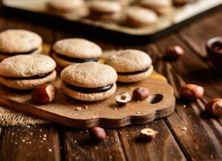 biscotto ripieno cioccolato ricetta FOTO ricettasprint