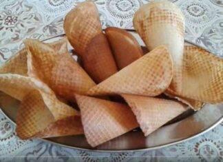 coni gelato fatti in casa