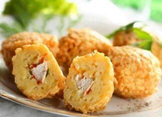 Crocchette di pollo al riso ricetta
