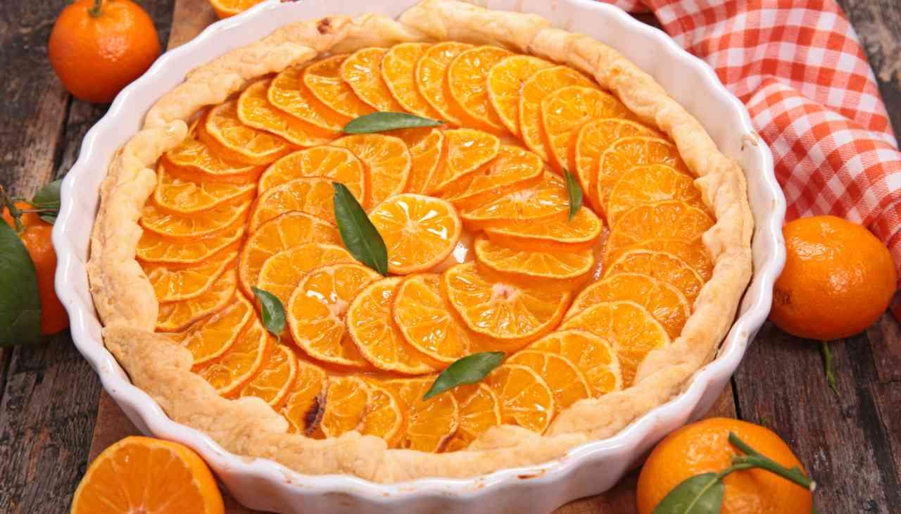 Crostata ai mandarini ricetta