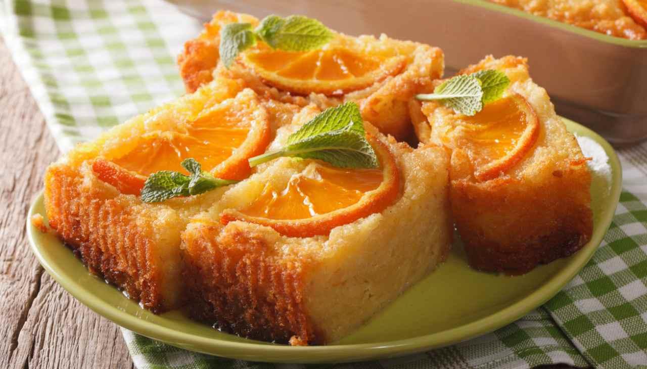 Dolce marocchino all'arancia ricetta