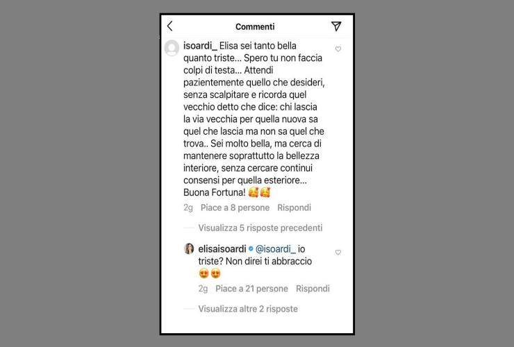 Elisa Isoardi dolce tristezza - RicettaSprint