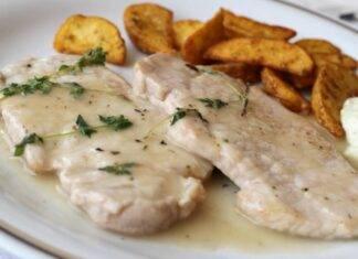 Fettine di pollo in salsa bianca ricetta