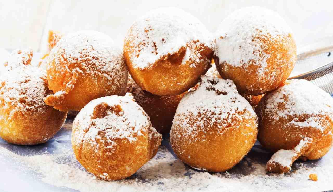 Frittelle di Carnevale al limone ricettasprint