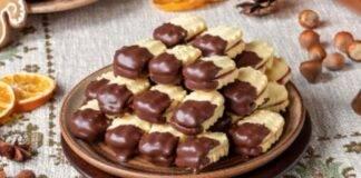 Frollini bicolore con nutella ricetta