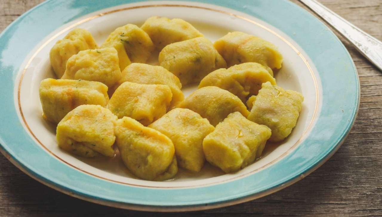 Gnocchetti di polenta ricetta
