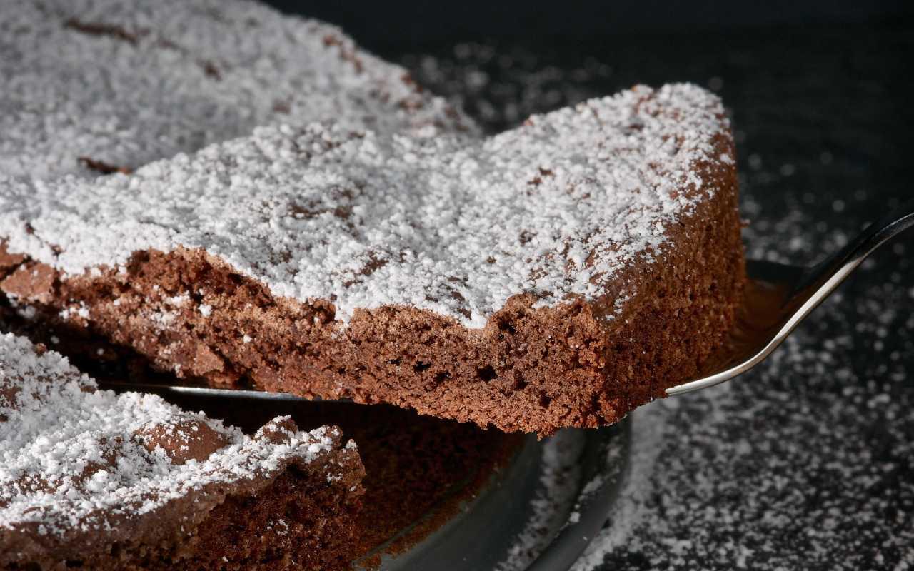 kladdkaka cioccolato ricetta FOTO ricettasprint