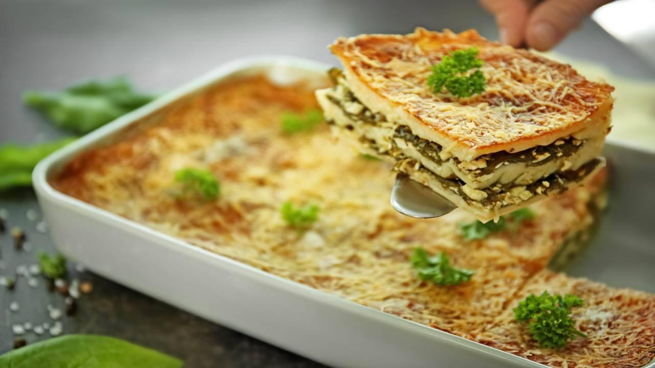 Finta lasagna con verdure