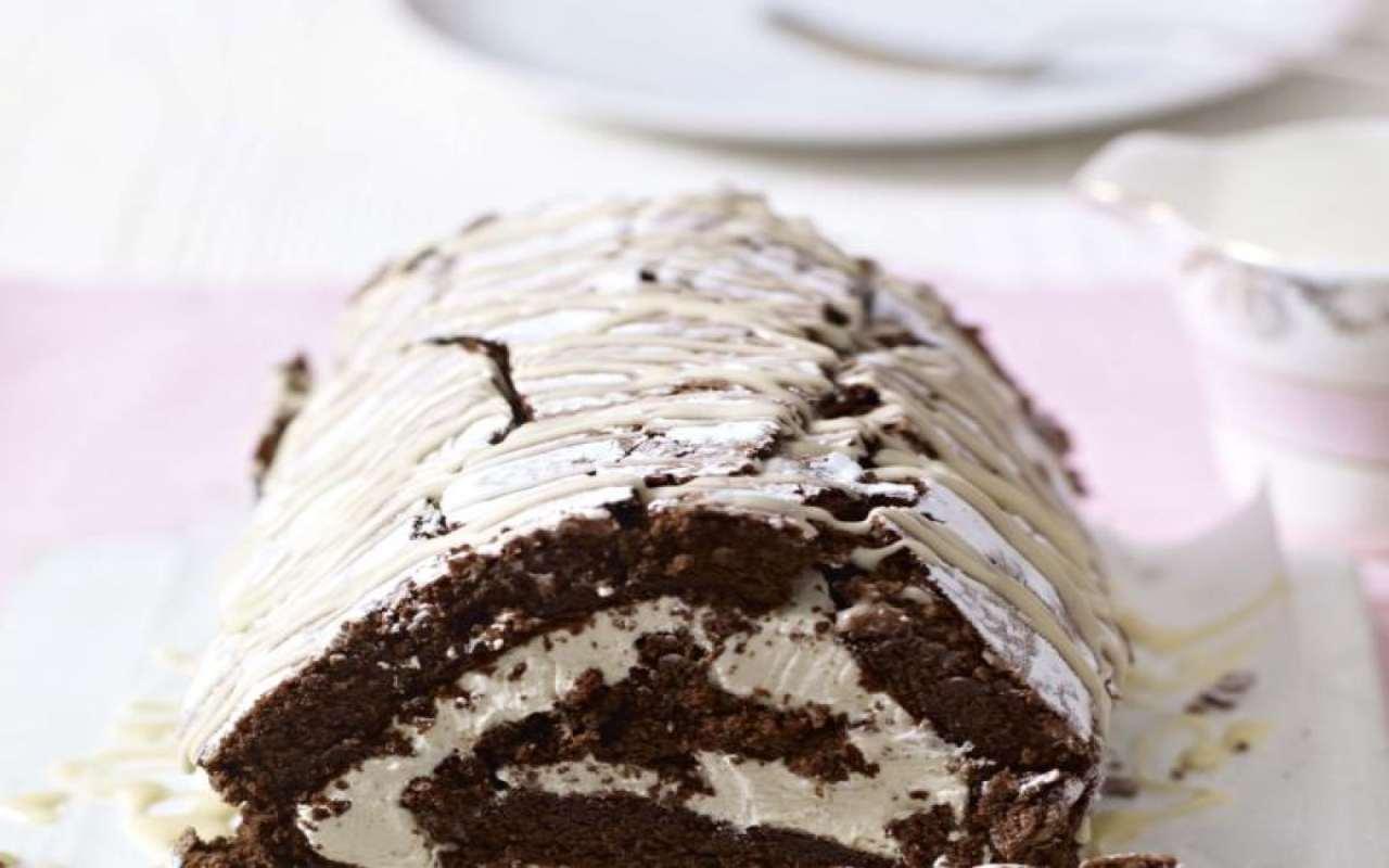 mattonella cioccolato panna ricetta FOTO ricettasprint