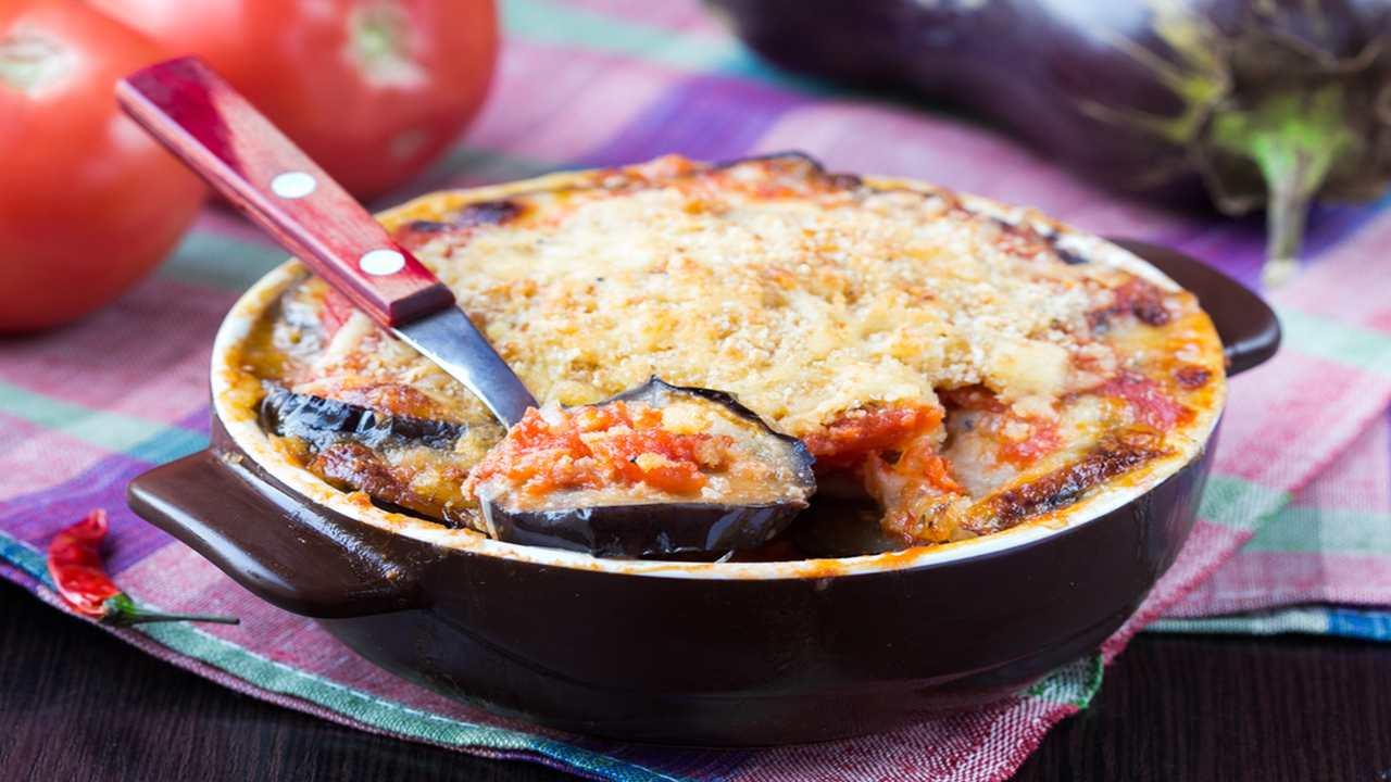 Parmigiana vegetariana
