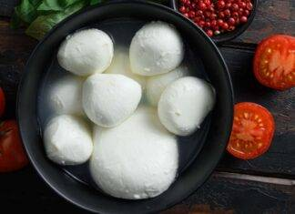 Mozzarella simil bufala vegan ricetta