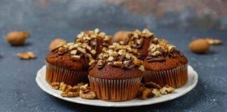 Muffin con frutta secca