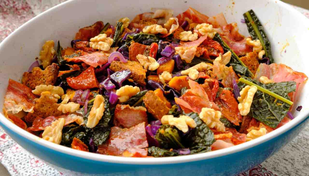 Panzanella invernale ricetta