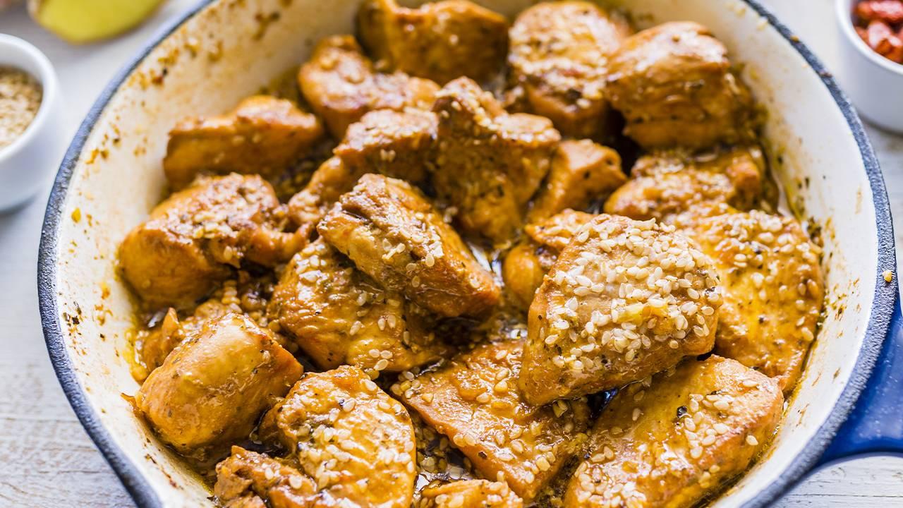 pollo speziato cinese
