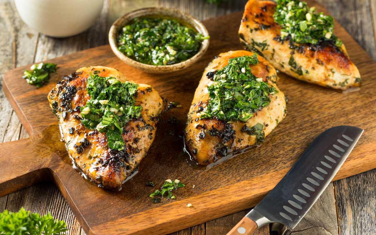 pollo prezzemolo ricetta FOTO ricettasprint