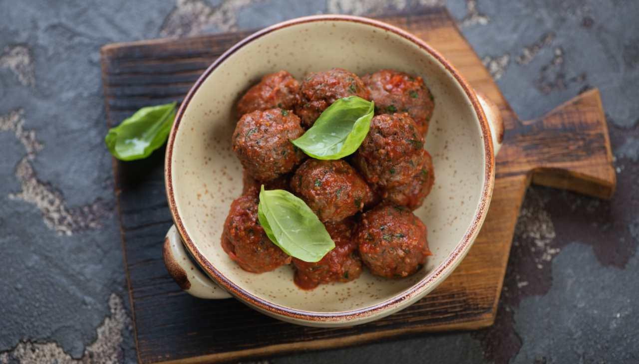 Polpette vegetariane al sugo ricetta