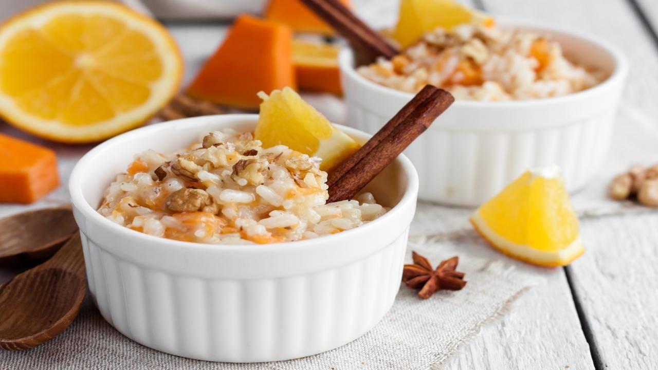 Porridge con arancia