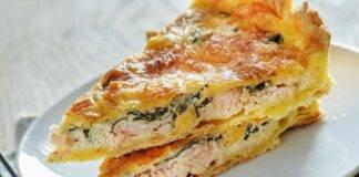 Quiche salmone e spinaci ricetta
