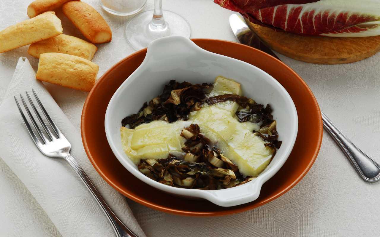 radicchio formaggio forno FOTO ricettasprint