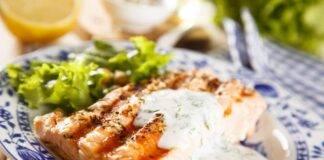 salmone yogurt panna ricetta FOTO ricettasprint
