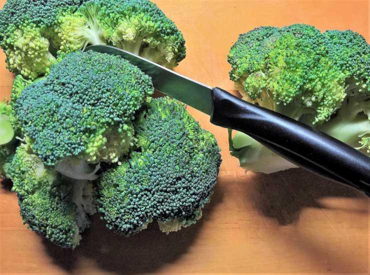 Sformato con broccoli