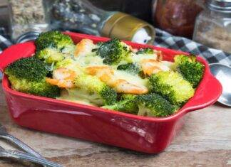 Sformato con broccoli