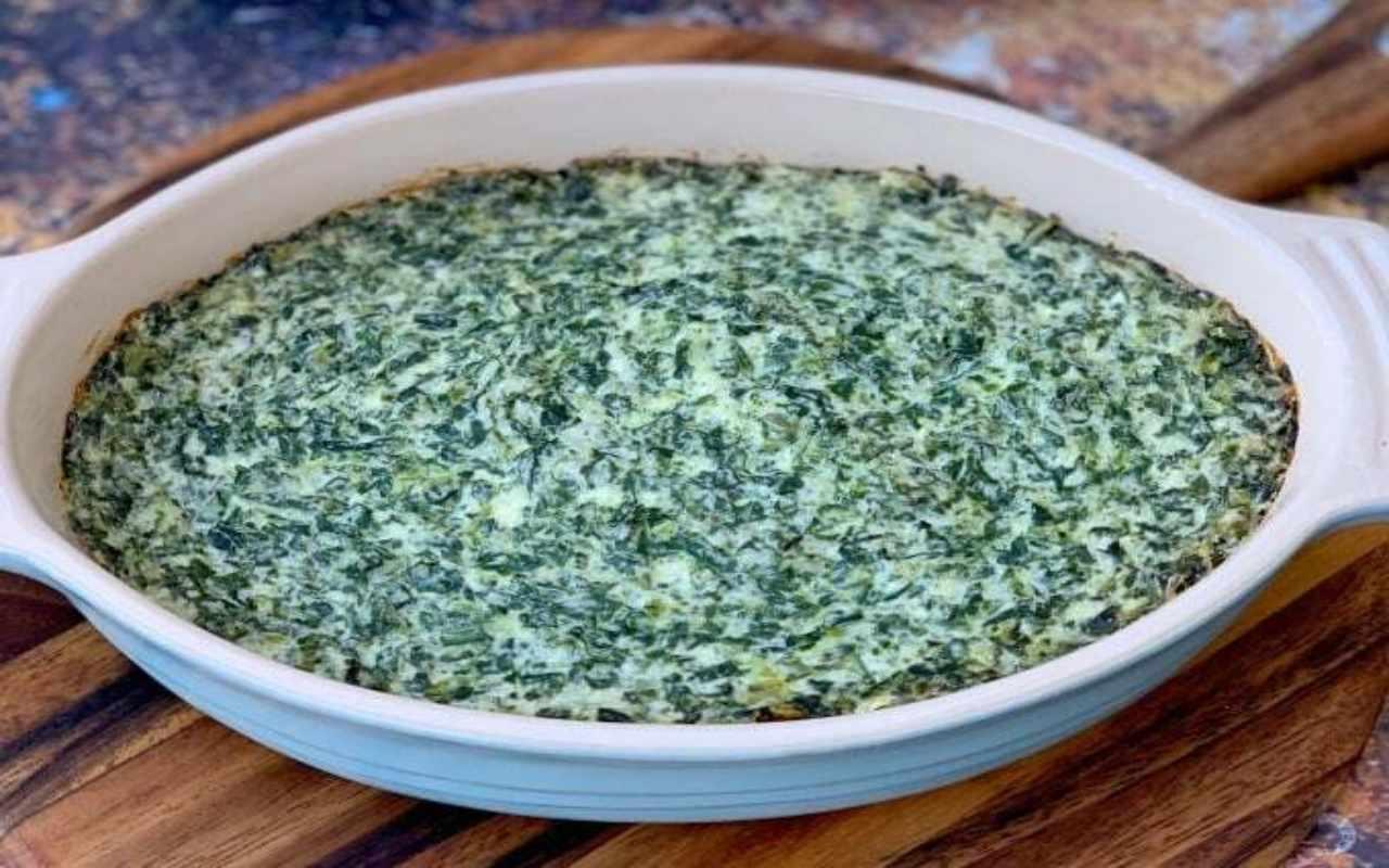spinaci mozzarella ricetta FOTO ricettasprint
