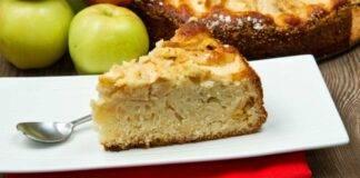 Torta di mele ferrarese ricetta