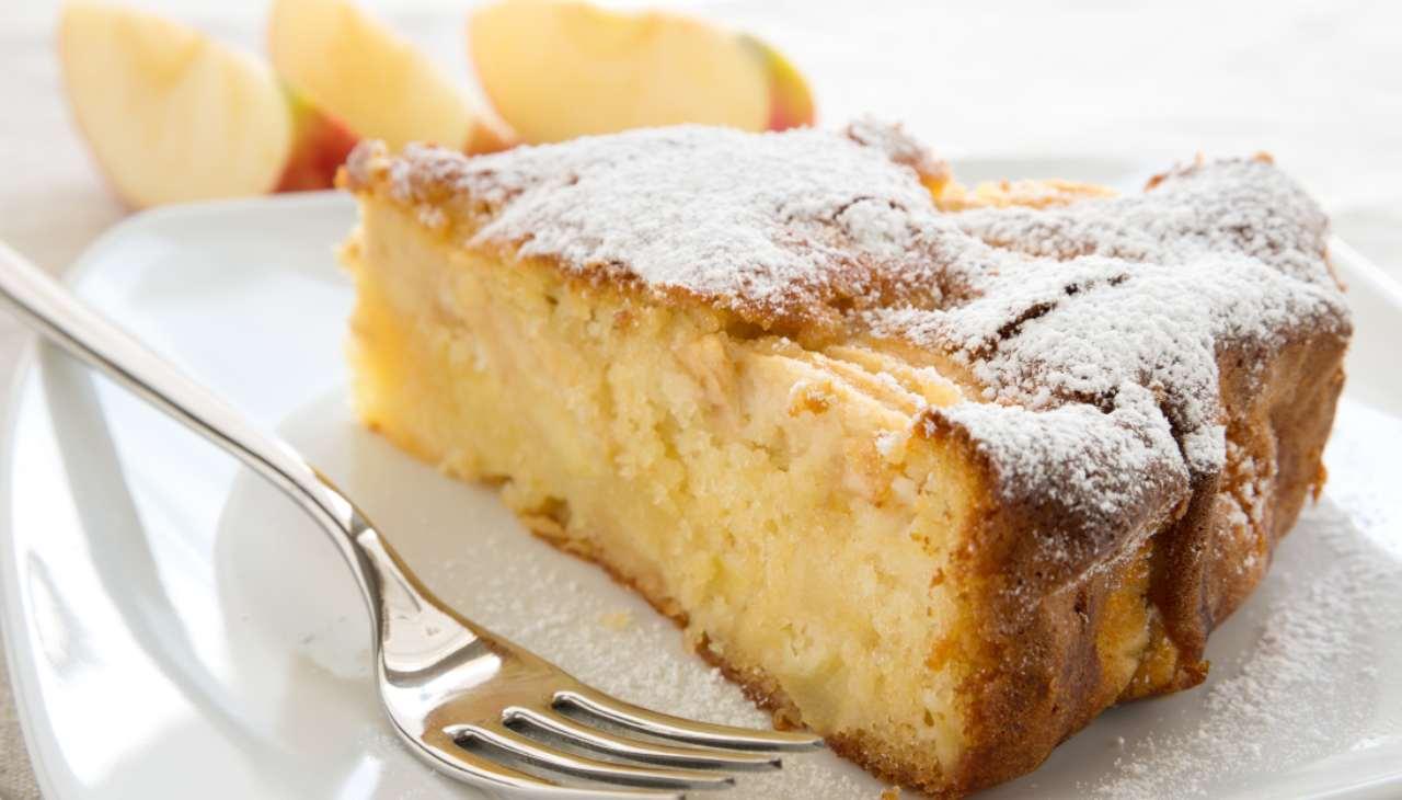 Torta di mele in padella ricetta