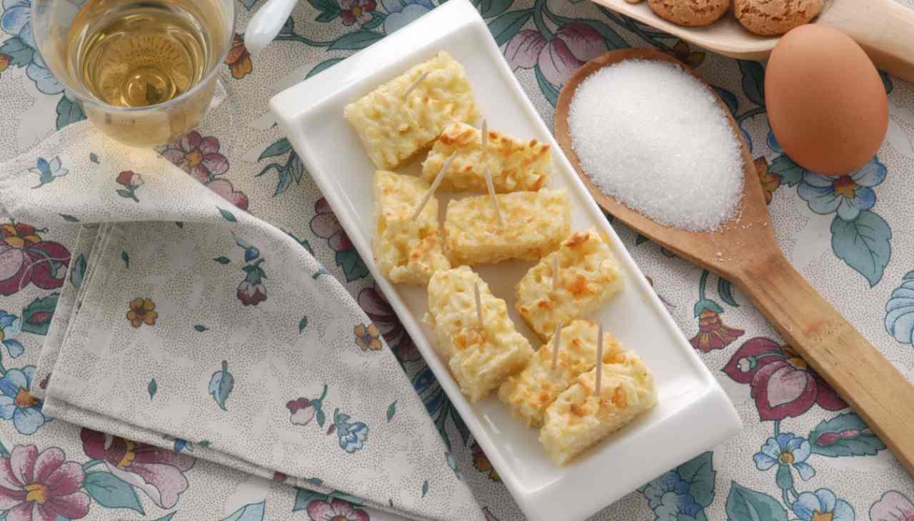 Torta di riso reggiana ricetta