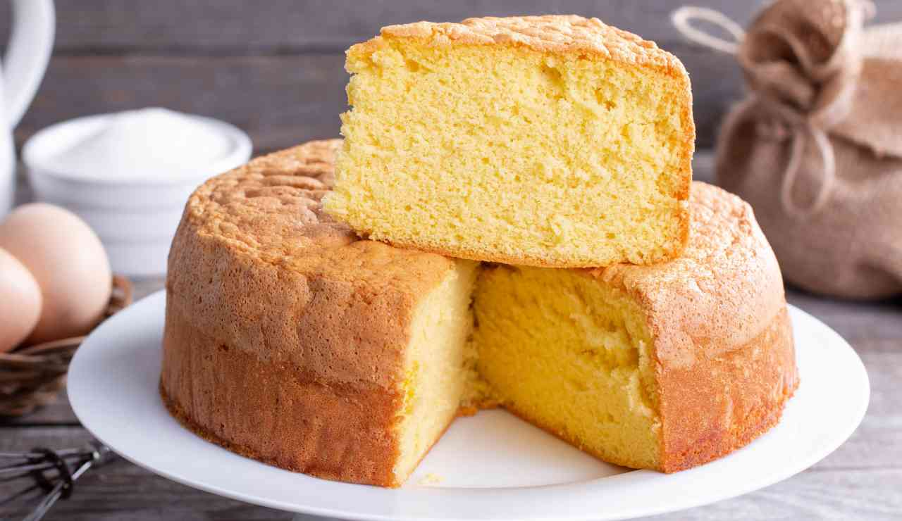 Torta fluffosa alla vaniglia ricettasprint