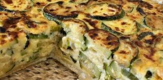 Pasta sfoglia con zucchine