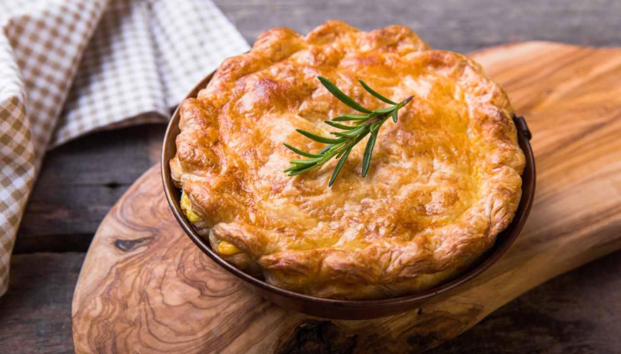 Torta salata di patate e finocchi ricetta