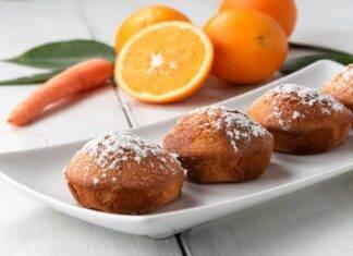 Dolci con arancia e carote